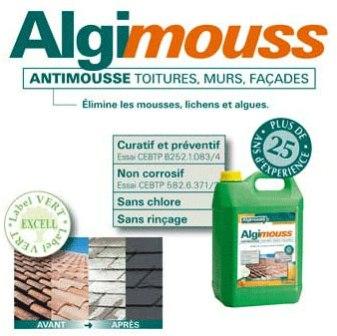 algimouss toiture