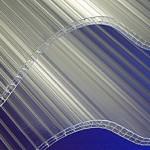 tole ondulée en polycarbonate
