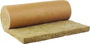 rouleau-laine-de-roche isolant mince