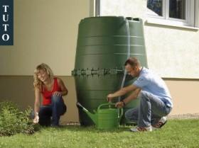 Comment installer un récupérateur eau de pluie
